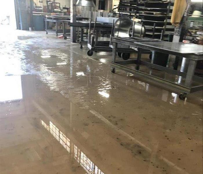 Flooding In Commercial Building